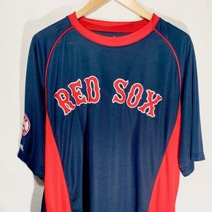 Stitches Red Sox T-Shirt Jersey Men Size XL